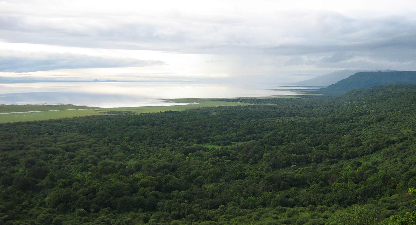 Great Rift Valley Wall and Lake Manyara