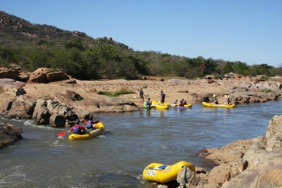 White Water Rafting in the Ezulwini Valley