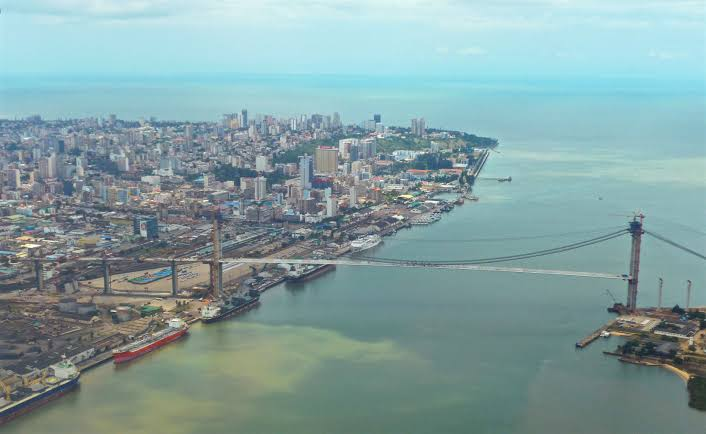 Bridge over Maputo Bay