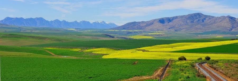 The Overberg in the Western Cape