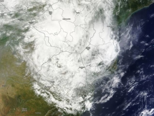 Swaziland is once in a while in the path of a cyclone that comes from the Mozambican Channel