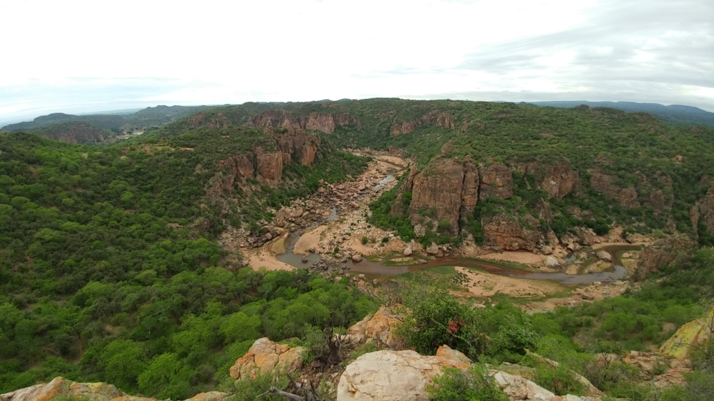 Lanner Gorge in the northern Kruger